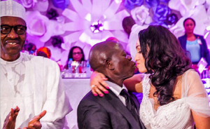Adams-Oshiomole wife PMB Headward