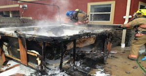 Port Harcourt (spa) Kitchen Area Catches fire