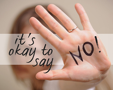 Positives In Saying No