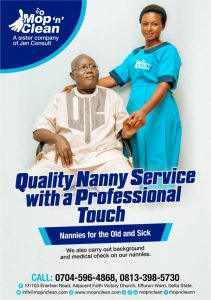 Mop n Clean Care for the Elderly