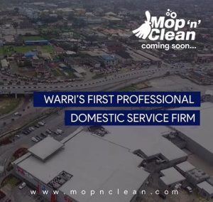 Warri's First Professional Domestic and Industrial Cleaning Service