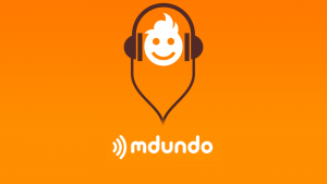 The Kenyan music service Mdundo logo